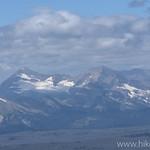 Rainbow Peak and Carter Peak Surround Rainbow Glacier