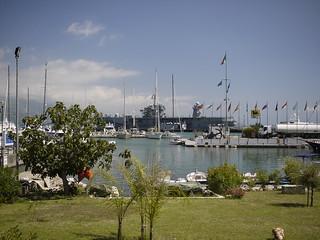 U. S. Navy ship anchored in Gaeta