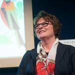 Anne Cleeves and Brenda Blethyn at the Edinburgh International Book Festival |