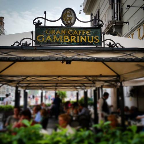 Gran Caffè Gambrinus #napoli #city #italy #naples #napolipix #napolinstagram @napolipix #manfrys #photostreet #like4like #follows