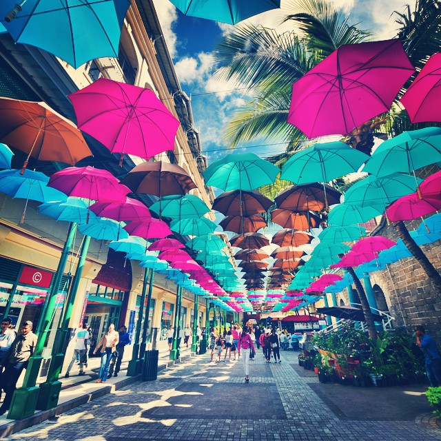 The umbrella alley PHOTOGENIC SPOTS IN MAURITIUS