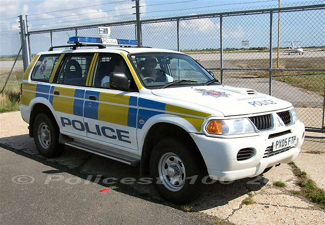 CNC Police Mitsubishi Shogun PX05 FTP