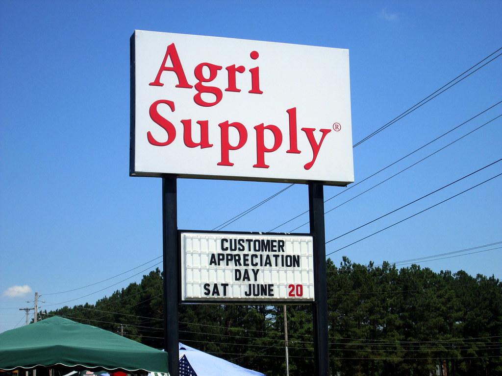 Agri Supply Customer Appreciation Day Sign  | Mark | Flickr