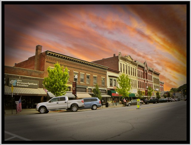 Ridgway Pa ~ Pennsylvania ~ Main St ~ Downtown Historic District