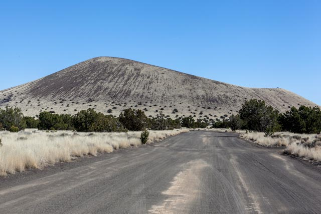 One of many cinder cones in the area