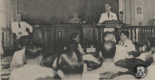 President Quezon's 3rd SONA