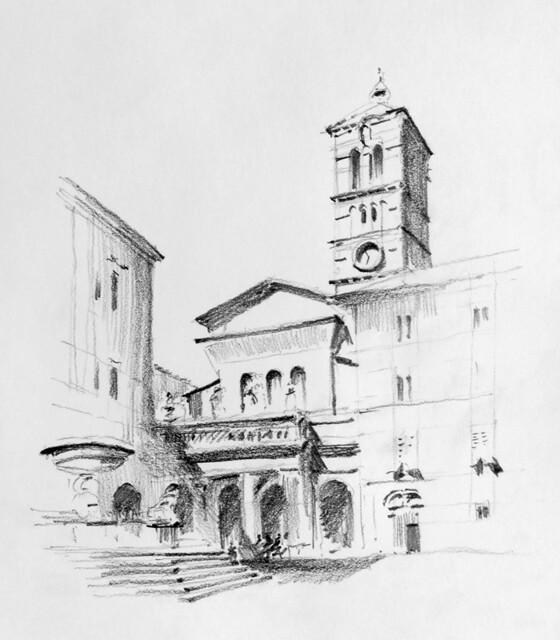 Santa Maria in Trastevere - Roma, IT