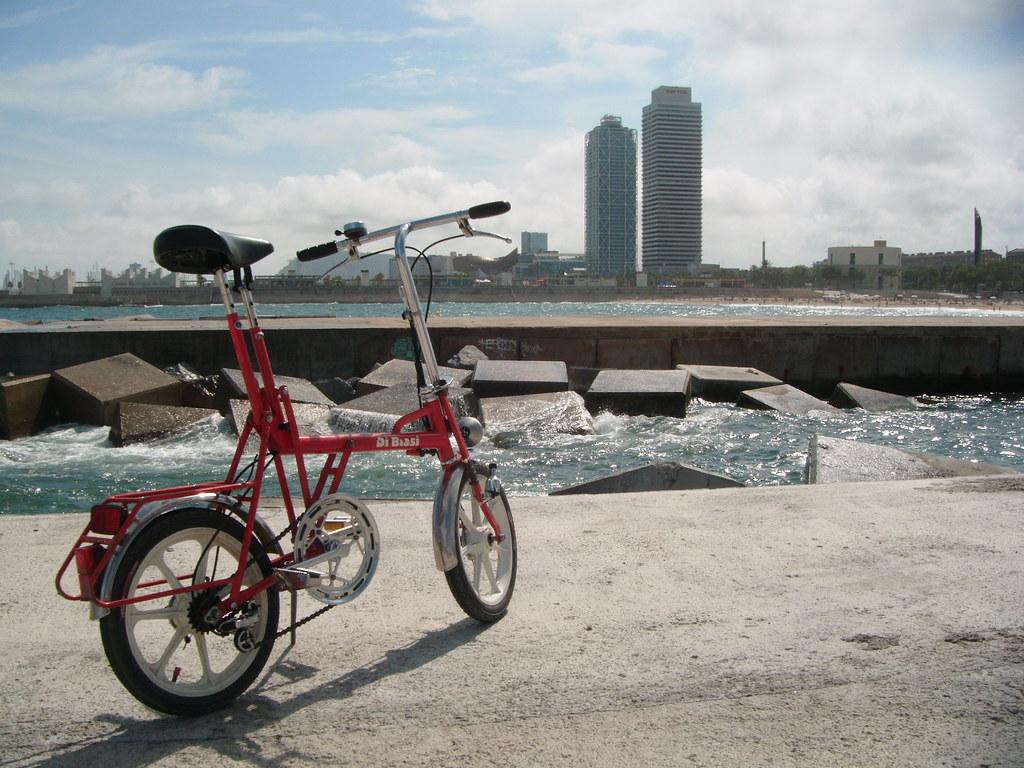 Bici Pieghevole Di Blasi.Di Blasi Red Barcelona Juny 14 035 Lluistrell Flickr