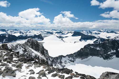 norway trekking norge hiking jotunheimen galdhøpiggen fottur