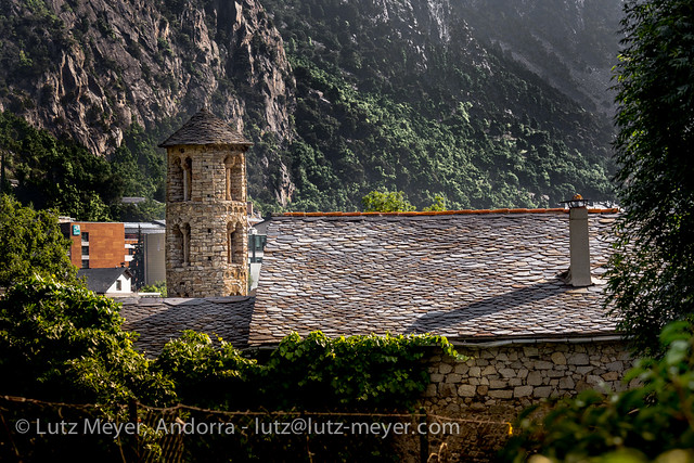 Andorra rural history: Santa Coloma, Andorra city