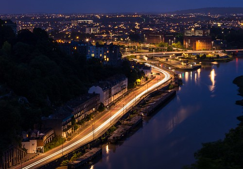 from uk bridge england night bristol nikon view suspension clifton lightroom d5200