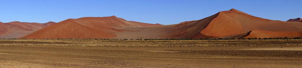 red dunes panorama