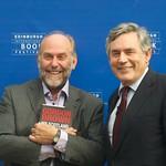 Alistair Moffa and Gordon Brown |