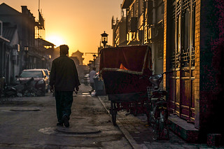 Behind Qianmen at Dawn | by pamhule