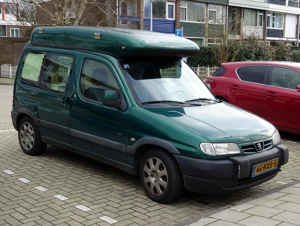 Peugeot partner camper
