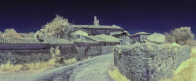 Castrillo de los Polvazares.León. Spain. Infrared photography