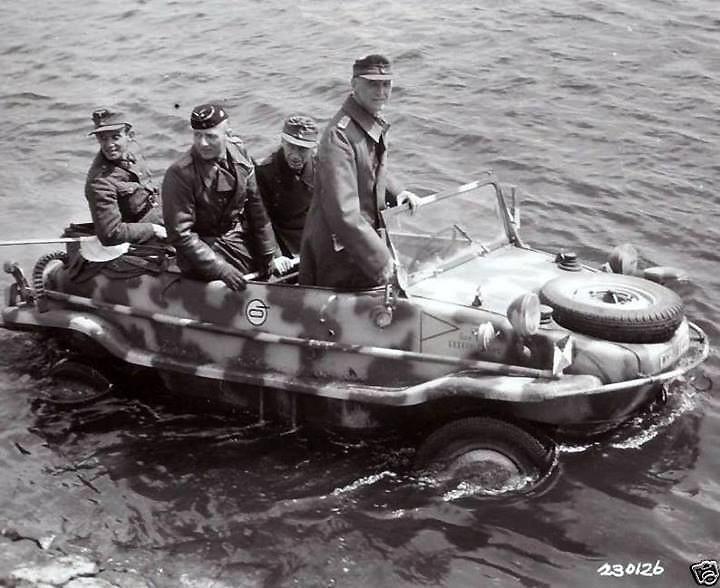 VW typ 166 Schwimmwagen