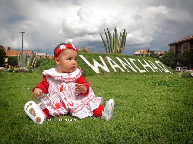 WANCHAQ, una bebé de los Andes