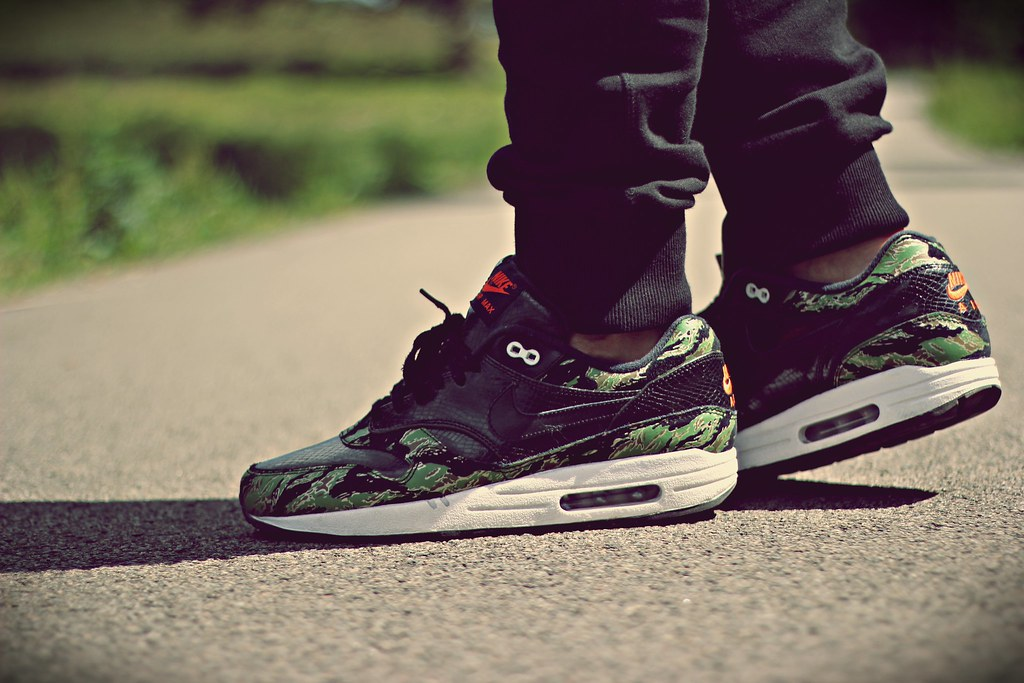 new style d08e5 01bd9 ... Nike Air Max 1 PRM x atmos Tiger Camo   by ymor80