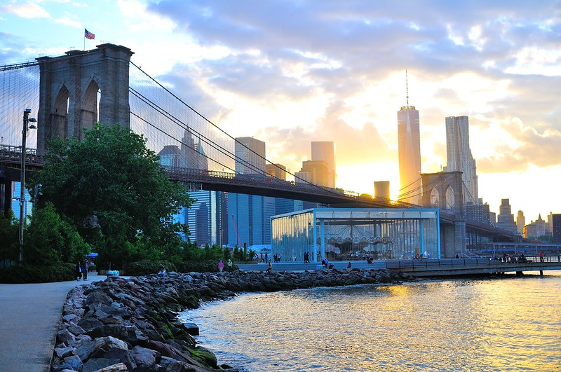 Brooklyn Bridge Park sunset