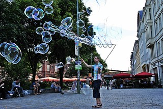 Berlin Hackescher Markt 100-Bubbler und Bubblebo | by Bubblebo