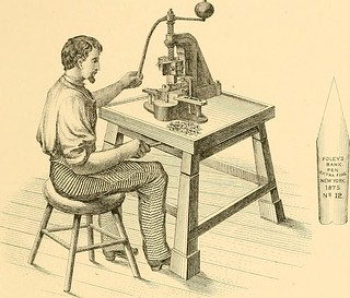 "Image from page 68 of ""History of the invention and illustrated process of making Foley's diamond pointed gold pens"" (1876) 