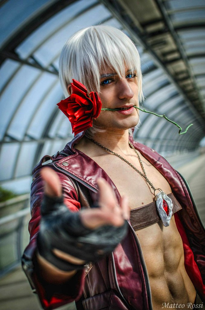 Dante Devil May Cry 3 Cosplay By Leon Chiro Www Facebook