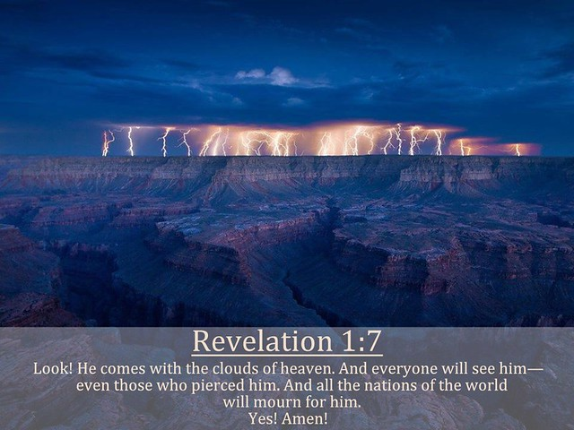 Revelation 1:7 nlt