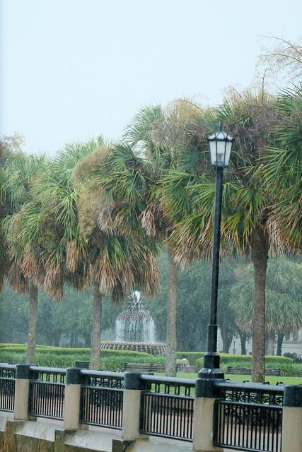 Charleston Harbor in the rain..Explored!