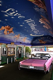 The Little White Wedding Chapel. The famous Drive Thru wedding window in Las Vegas. | by Greg Lilly Photos