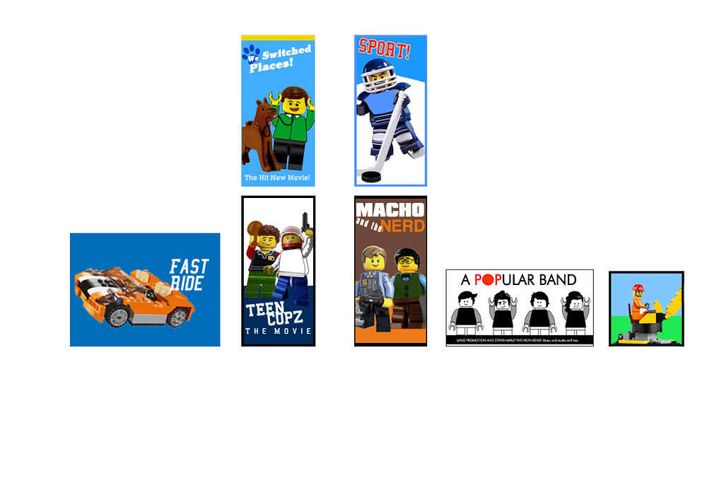 The Lego Movie Emmet S Apartment Posters These Are All C Flickr