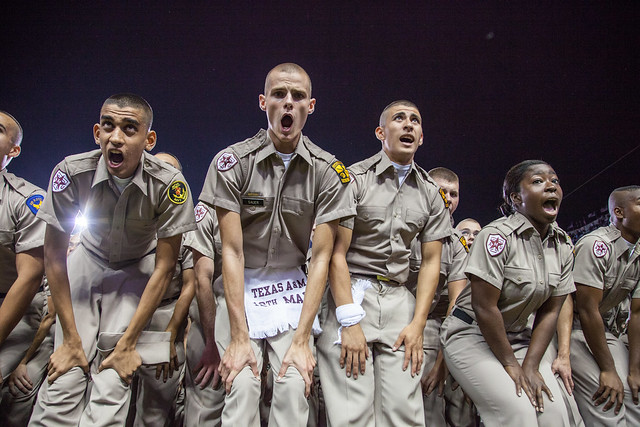 Texas A&M Corps of Cadets - Game Day at Kyle Field