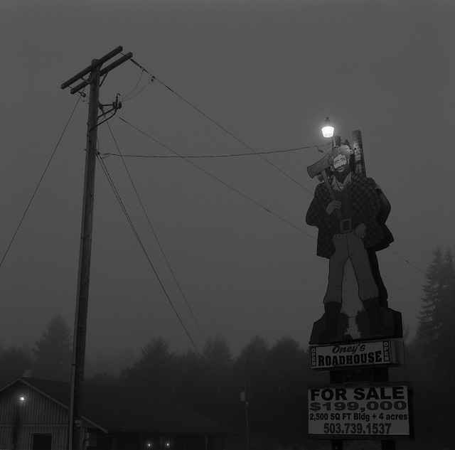 Along Highway 26, Oregon