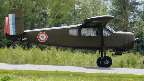 Max Holste MH-1521M Broussard at Kjeller Air Show 2015   by J.Comstedt