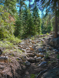Climbing climbing climbing alongside Sharktooth Creek | by snackronym
