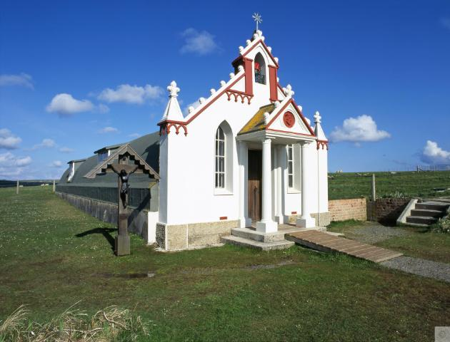 The Italian Chapel, Orkney (provided by Historic Scotland, no stated copyright)