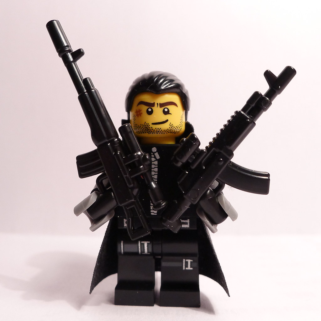 Soldier Military Russian BrickArms AK-12 Rifle for  Minifigures