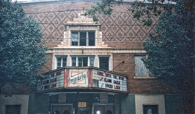 Imperial Theatre  ~  Griffin ~  Georgia ~ My Old 35mm Film