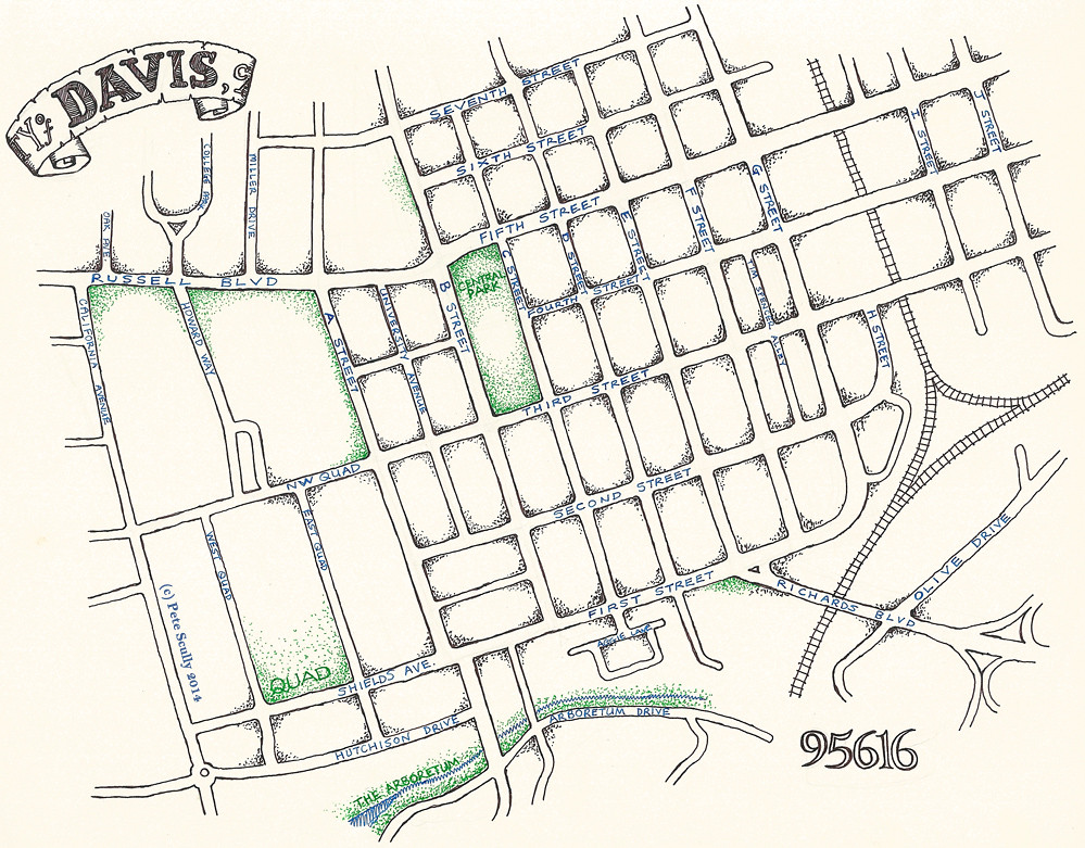 Davis Map | petescully | Flickr on