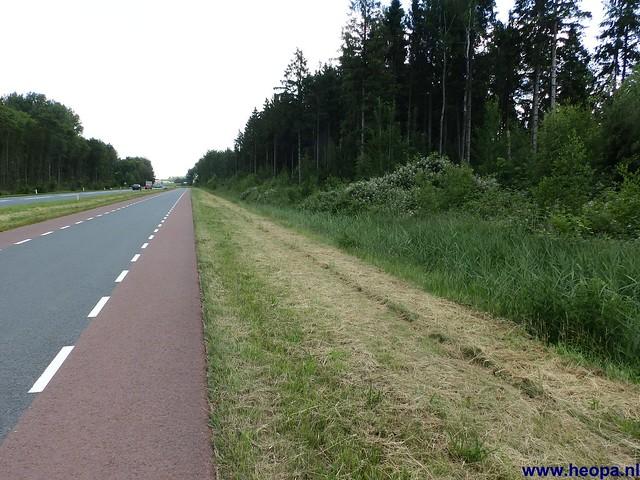 12-06-2014 Dronten Roggebotzand  20 Km (38)