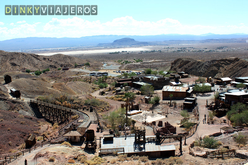 Calico Ghost Town. Vista general