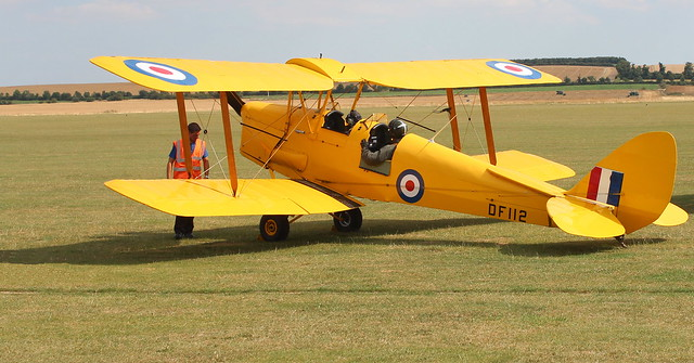 De Havilland Tiger MothDe Havilland Tiger Moth DH.82A DF112 G-ANRM
