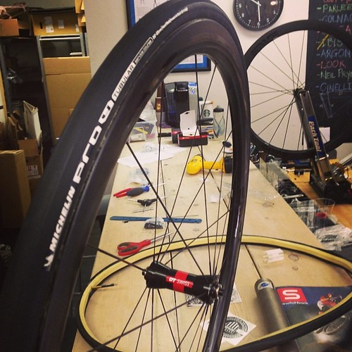 Michelin Pro 4 Tubular on Enve 3.4 | by Glory Cycles