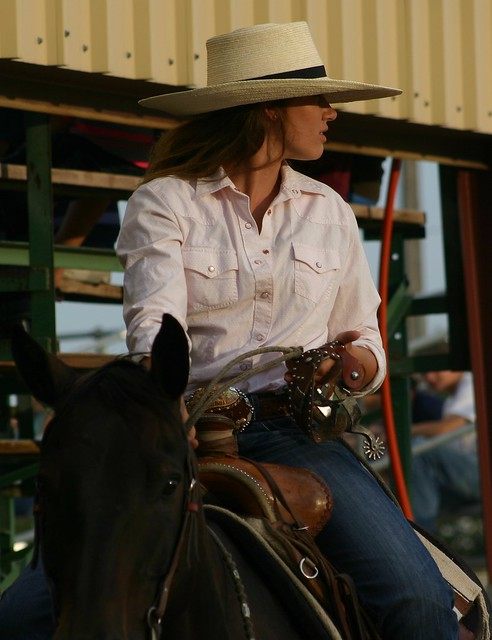 Lady in the Saddle