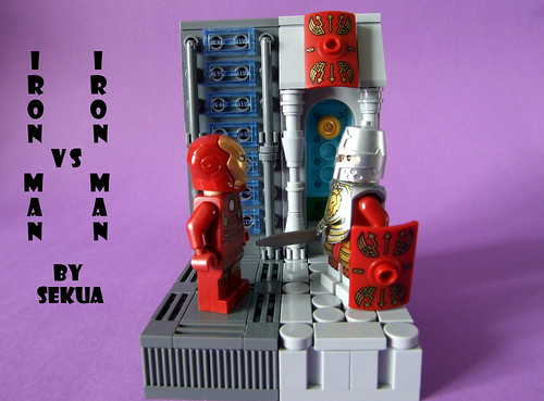 Iron Man vs Iron Man | by SEKUAcreations