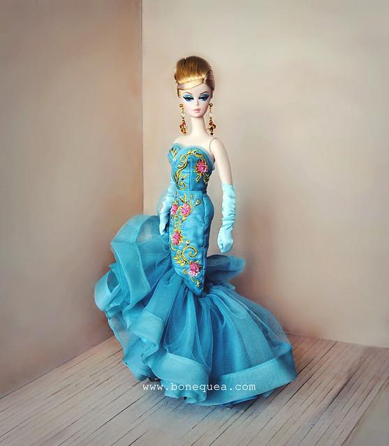 Mi nueva chica londinense: Tribute Barbie. BFMC 10th Anniversary