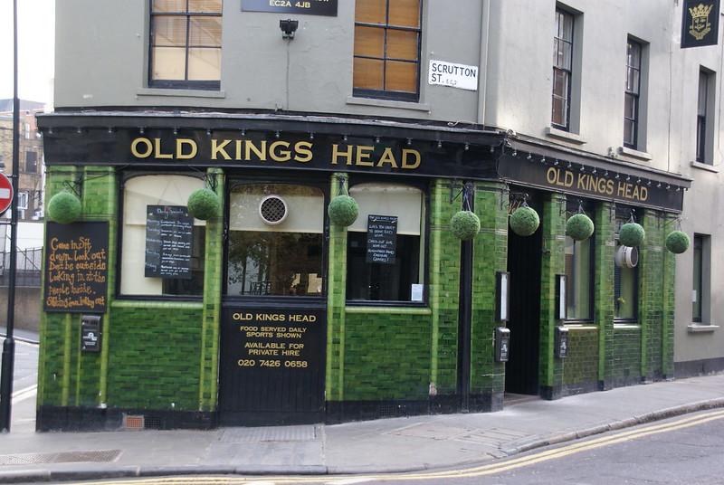 The Old Kings Head Scrutton Street London EC2