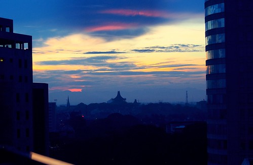 dawn cityscape lanka srilanka ceylon colombo dey anindo kingsburyhotel anindodey