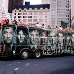 Gotham TV Series Double Decker Bus Billboard AD 7958