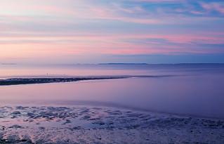 Long Island Sound at twilight